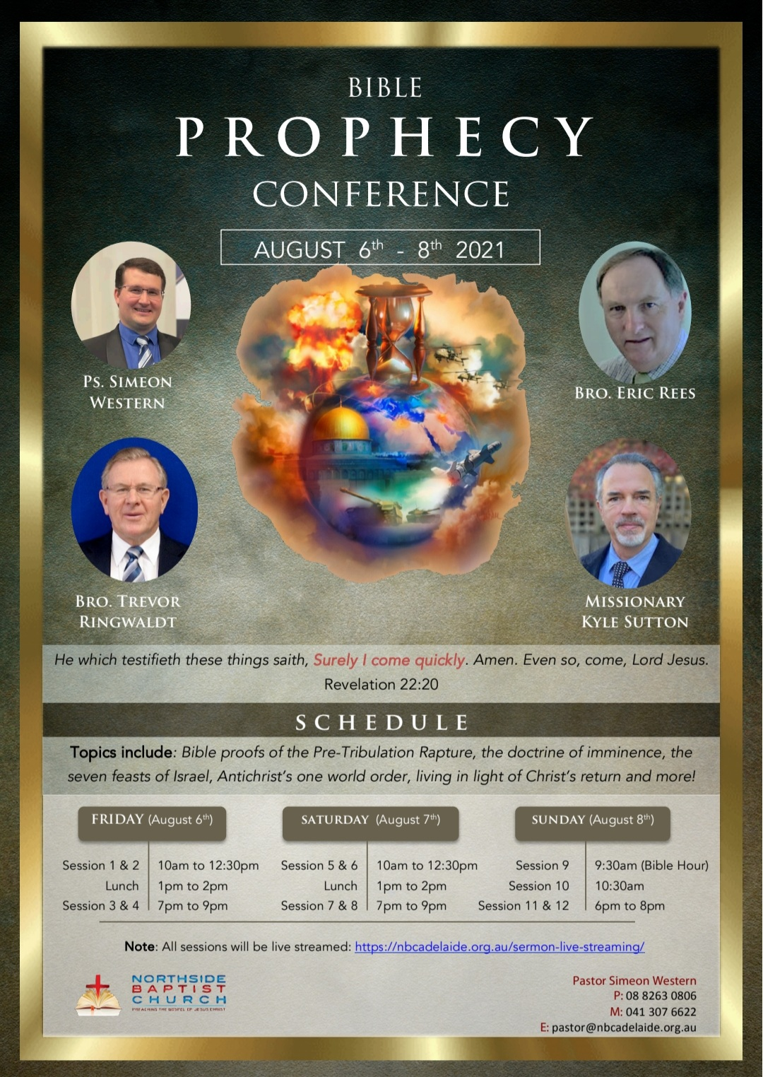 Bible Prophecy Conference