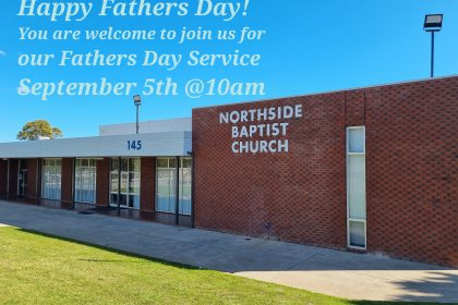 Fathers Day Service - September 5th